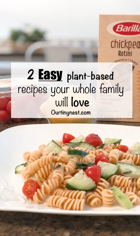 easy plant based recipes