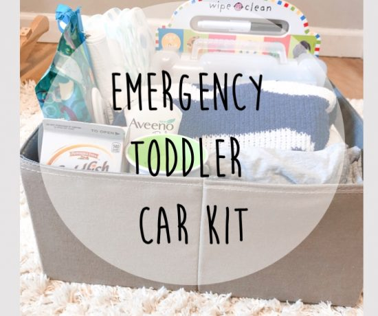 emergency toddler car kit