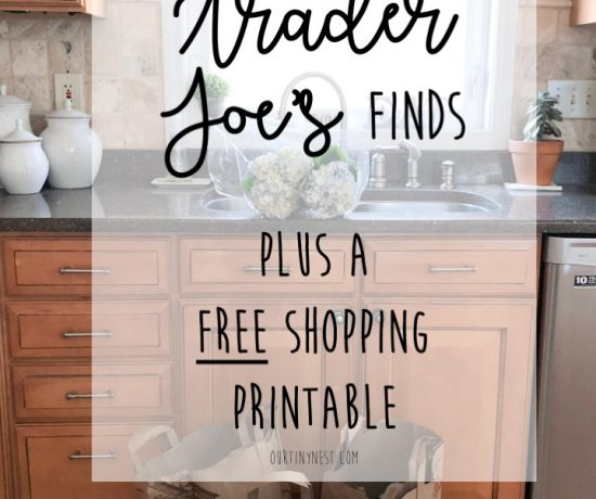 My Favorite Trader Joe's Finds and a free shopping printable
