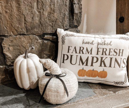 Easy DIY Sweater Pumpkin
