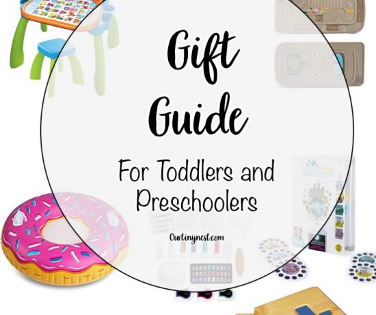 Gift Guide for Toddlers and Preschoolers