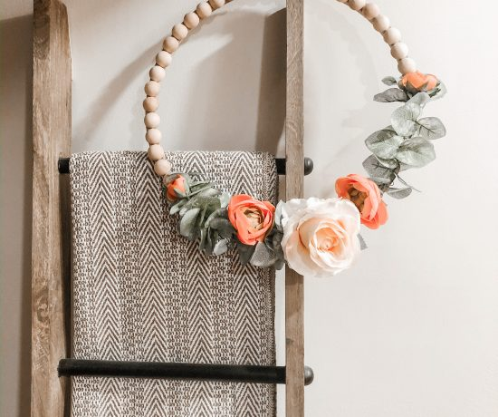 DIY beaded wreath tutorial