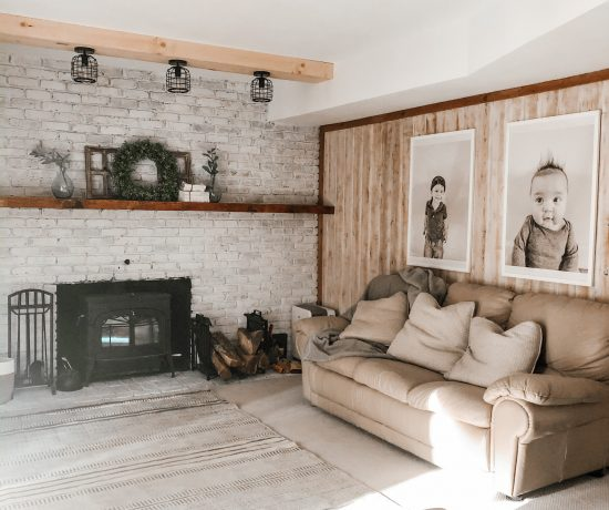 farmhouse family room renovation