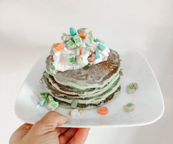 Lucky St. Patrick's Day Pancakes
