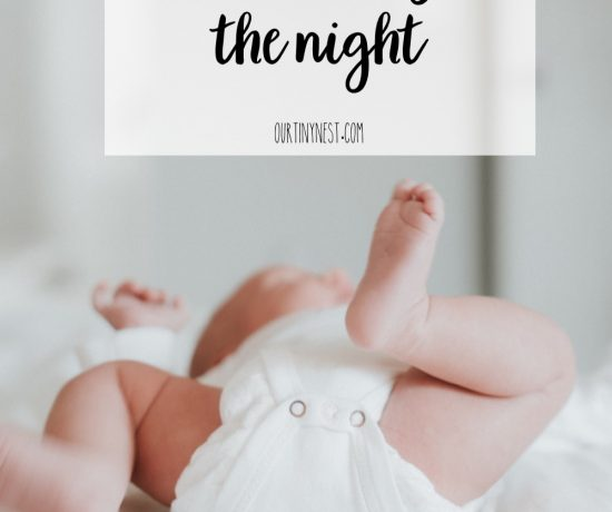 5 tips to get baby to sleep through the night
