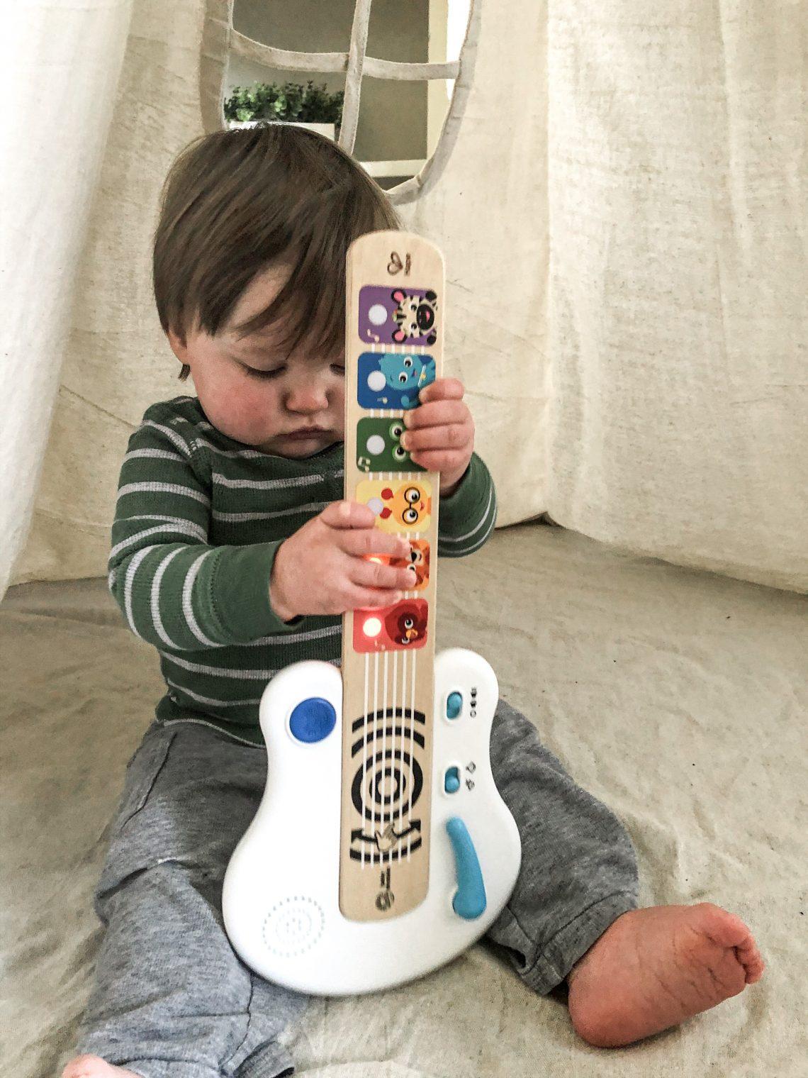sensory play ideas- baby einstein