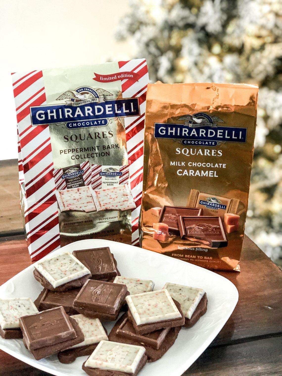 holiday chocolate squares recipe