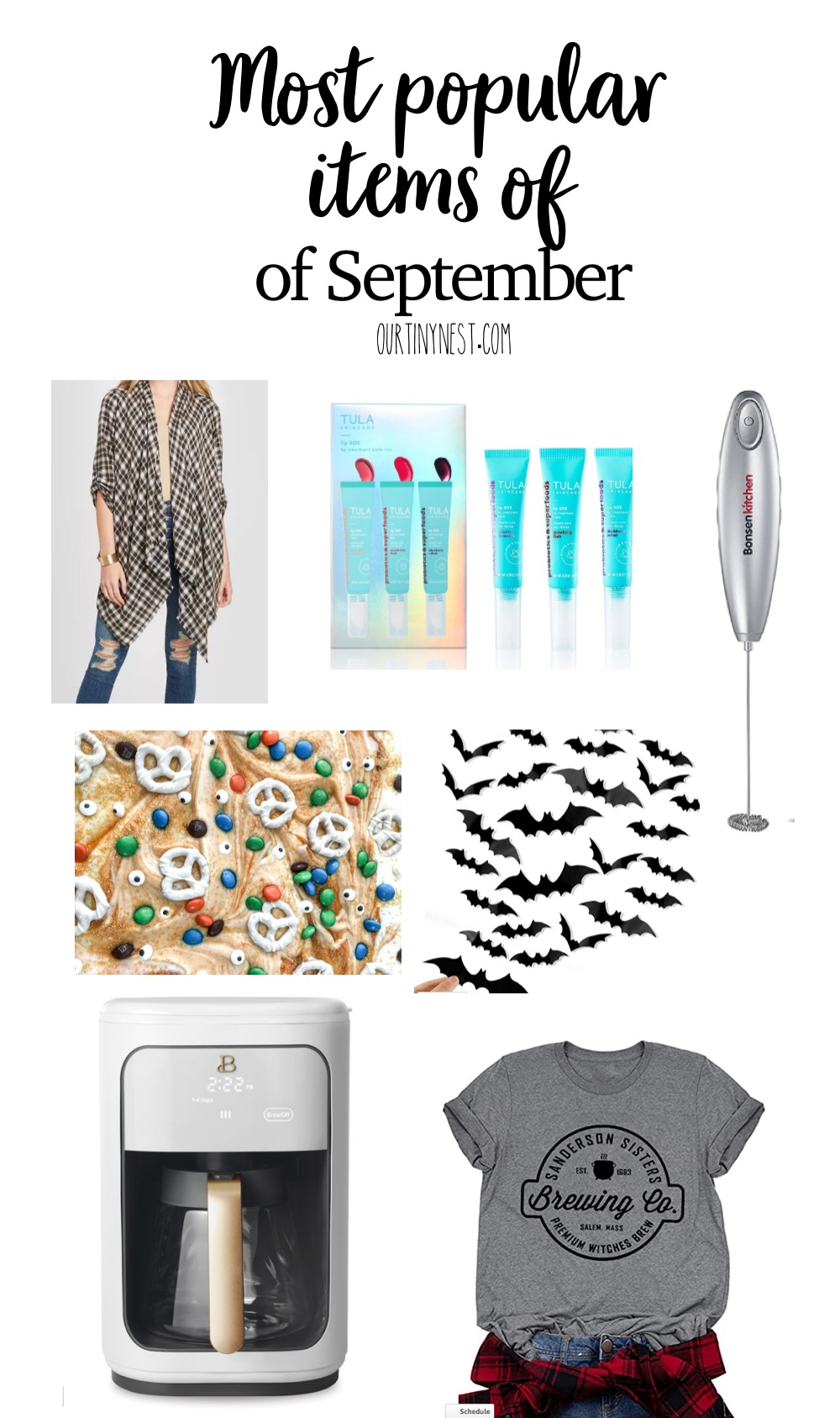 Your top purchases of September